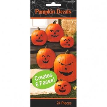 Pumpkin Decals