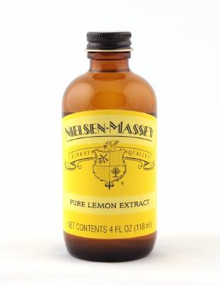 Pure Lemon Extract 4 OZ
