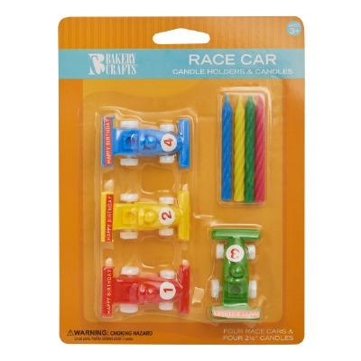 Race Car Candleholder Candles