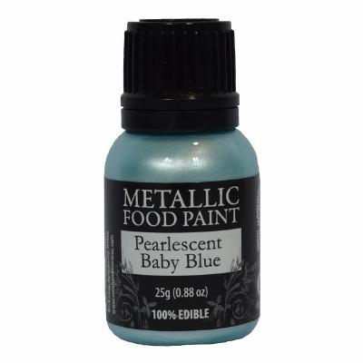 Rainbow Metallic Paint Pearl Baby Blue