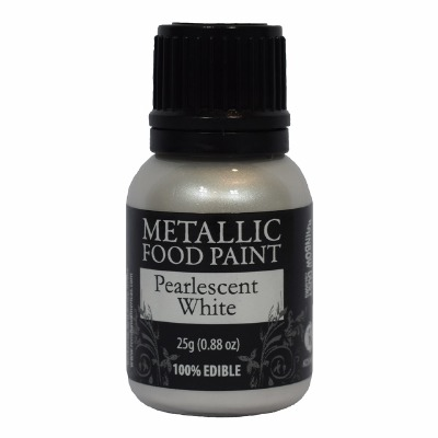 Rainbow Metallic Paint Pearl White