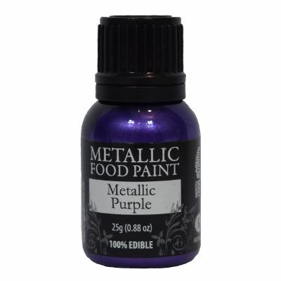 Rainbow Metallic Paint Purple