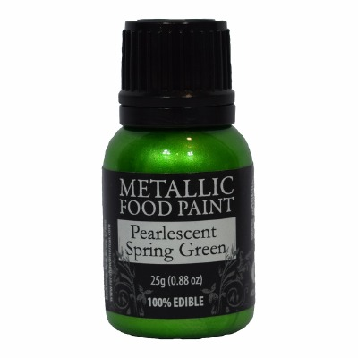 Rainbow Metallic Paint Pearl Spring Green