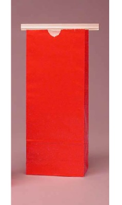 Red Cookie Bag 4X2X9 25 CT