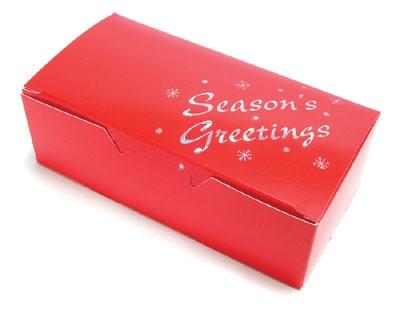 Red Seasons Greetings Box 1 LB