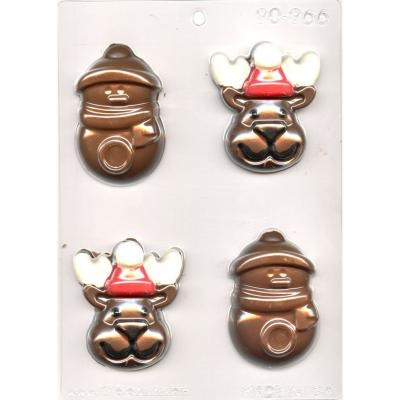 Reindeer and Snowman Mold (4)