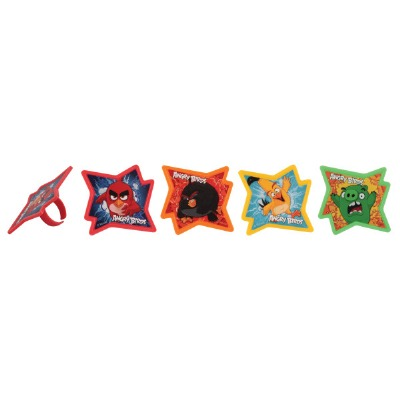 Rings Angry Birds 12 CT