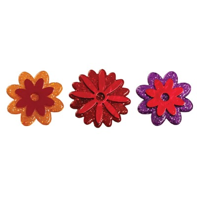 Rings Fall Flowers Puffy 144ct