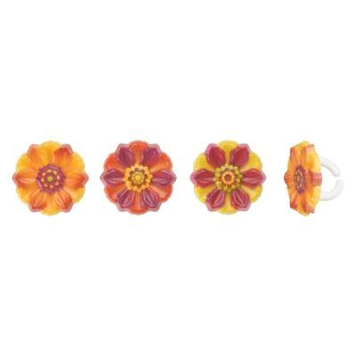 Rings Fall Harvest Flower 12ct