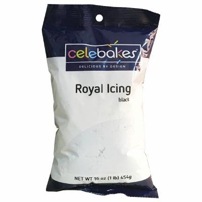 Royal Icing Mix Black 16 OZ