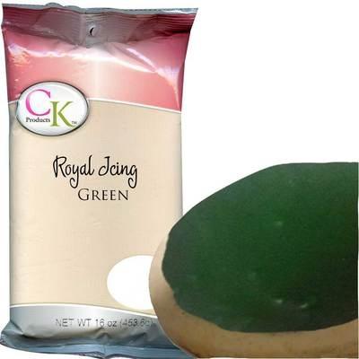 Royal Icing Mix Green 16 OZ