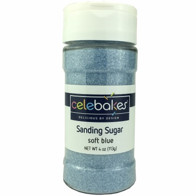 Sanding Sugar 4 OZ Soft Blue