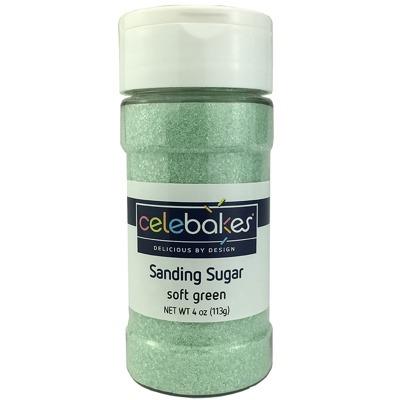 Sanding Sugar 4 OZ Soft Green