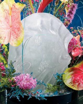 Sculptures In Ice Fish