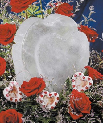 Sculptures In Ice - Heart