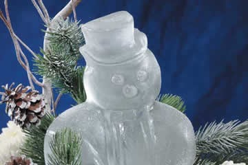 Sculptures In Ice Snowman