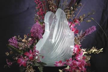 Sculptures In Ice - Swan
