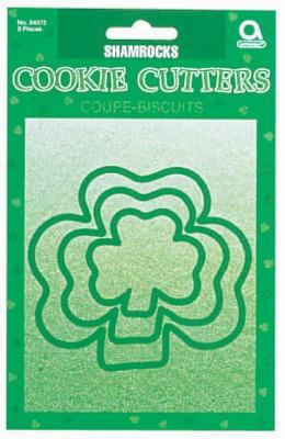 Shamrock Cookie Cutters 3PC