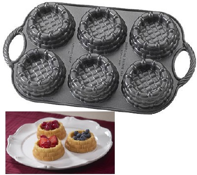Shortcake Baskets Baking Pan