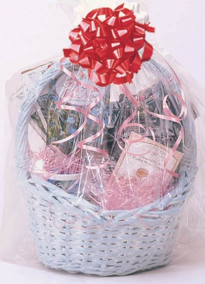 Shrink Wrap Basket Bag