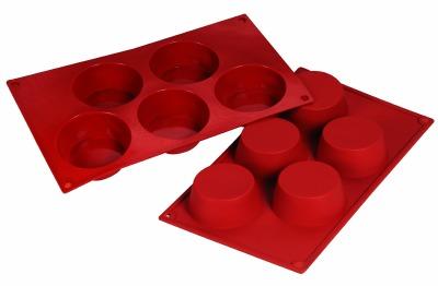 Silicone Mold Muffin 4.57oz 5 CAV
