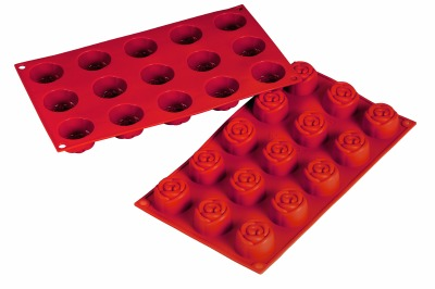 Silicone Mold Rose .78oz 15 CAV