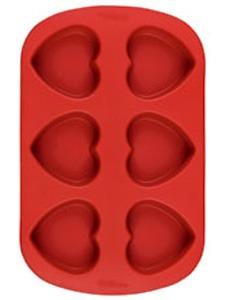 Silicone Heart Mold 6cav