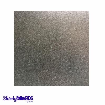 """Silver Sturdy Board Square 10"""""""