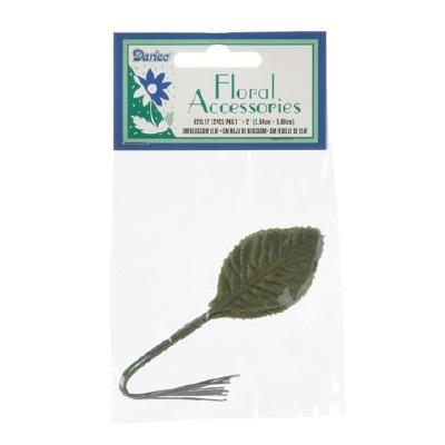 Small Blossom Leaf - Green 12 Pkg