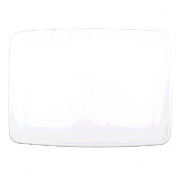 "Small Platter 8"" X 11"" White"