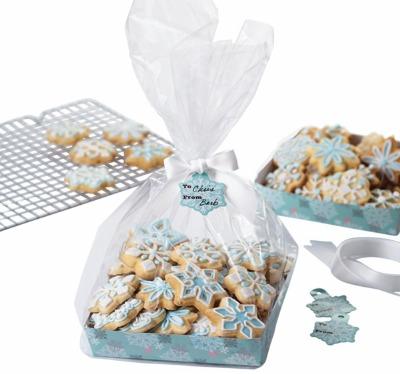 Snowflake Cookie Tray Kit 4 CT