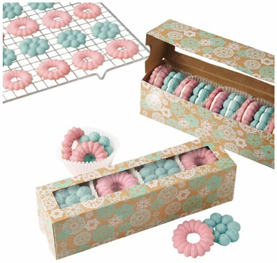 Snowflake Cookie Treat Boxes