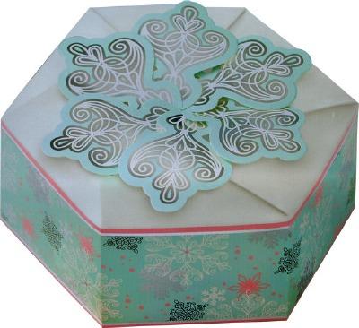 Snowflake Hexegon Box 3 CT