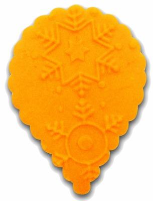 Impression Rolling Pin Snowflake #2