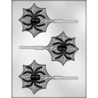 Spider on Web  Hard Candy Mold