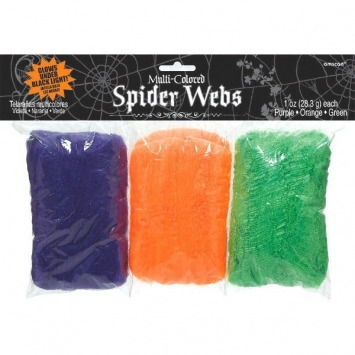 Spider Web Polyester 3 Colors