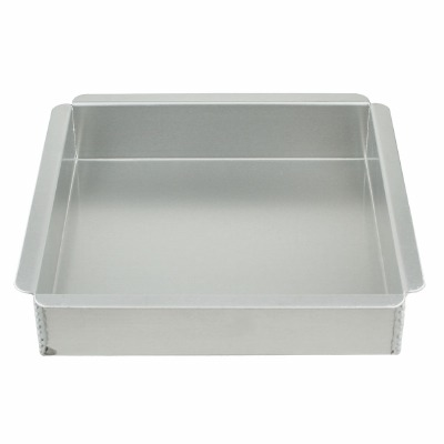 "Magic Line Square Cake Pan 6"" X 6"" X 3"""