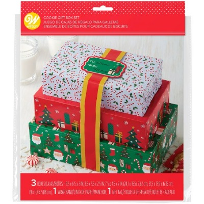 Stacking Boxes w/Ribbons