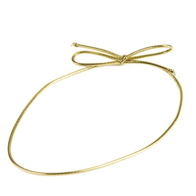 """Stretch Loops 18"""" Gold 50 CT"""