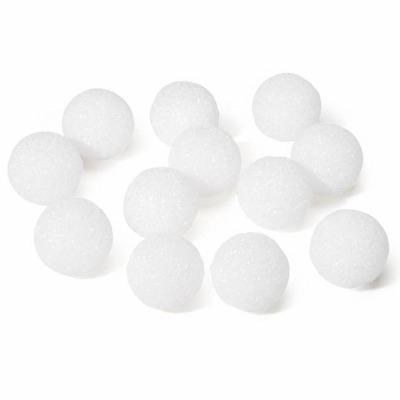 "Styrofoam Ball White 1""  16 CT"