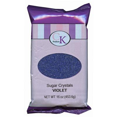 Sugar Crystals 16 OZ Violet