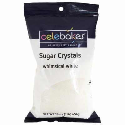 Sugar Crystals 16 OZ White