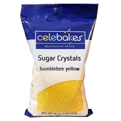 Sugar Crystals 16 OZ Yellow