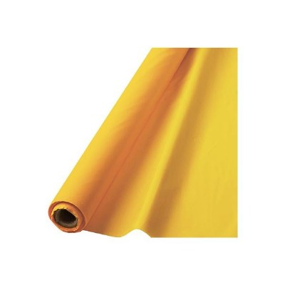"""Table Roll 40""""X100' Yellow"""