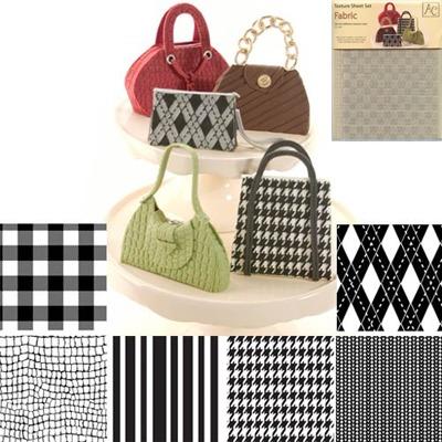 Texture Sheet Set/6 Fabric