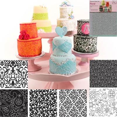 Texture Sheet Set/6 Floral
