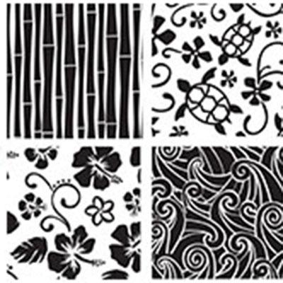 Texture Sheet Set/6 Hawaiian
