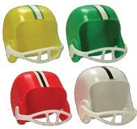 Assorted Football Helmets 4 CT