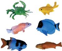 "2"" to 3"" Deep Sea Fish 6 CT"