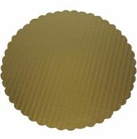 Gold Cake Board 9 Inch Round